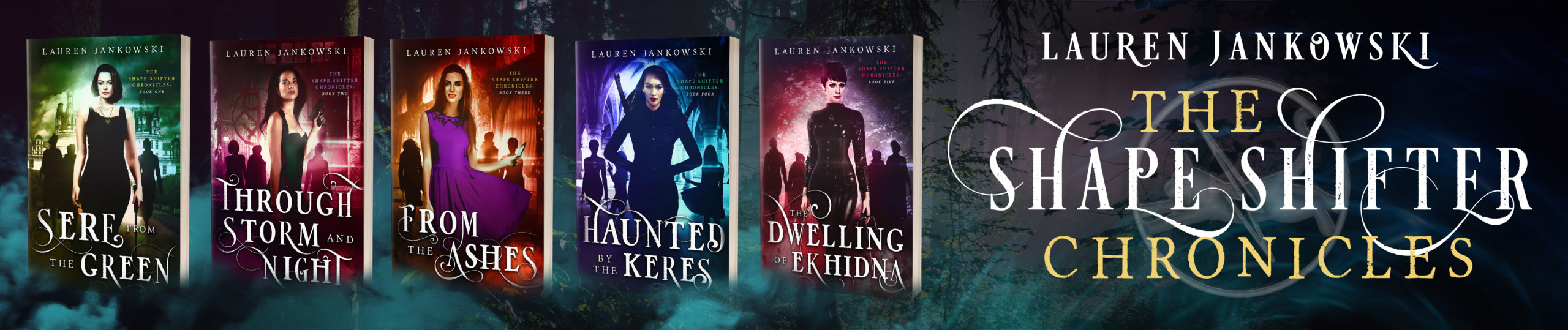 The Shape Shifter Chronicles by Lauren Jankowski